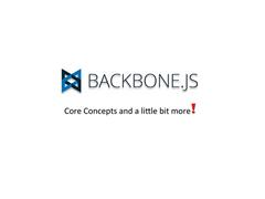 Presentation: BackboneJS